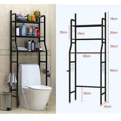 Grande étagère de salle bain multi usage